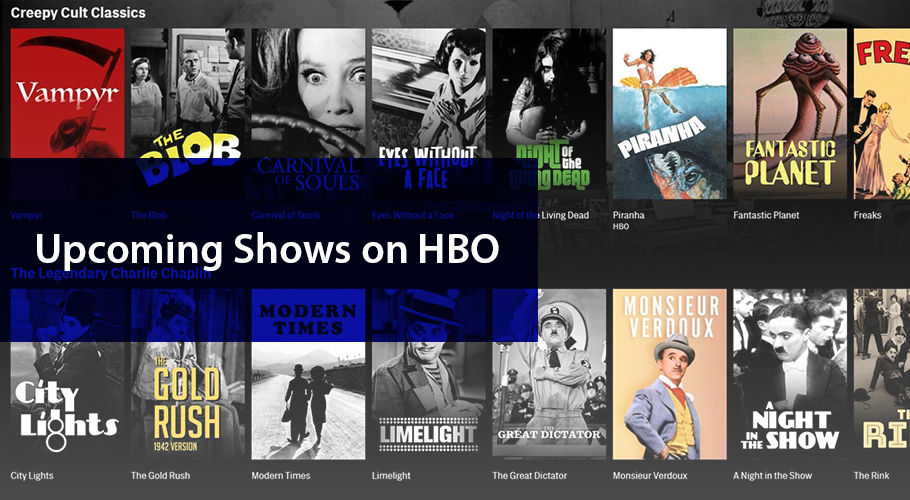 Upcoming Shows On Hbo