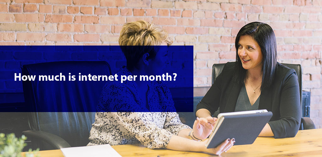 How Much İs İnternet Per Month