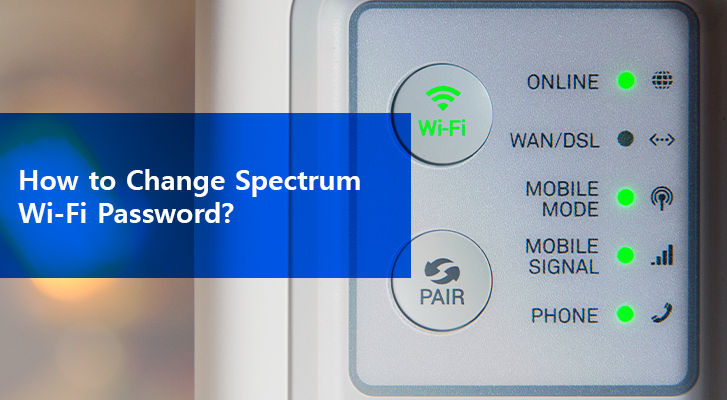 How To Change Spectrum Wi Fi Password