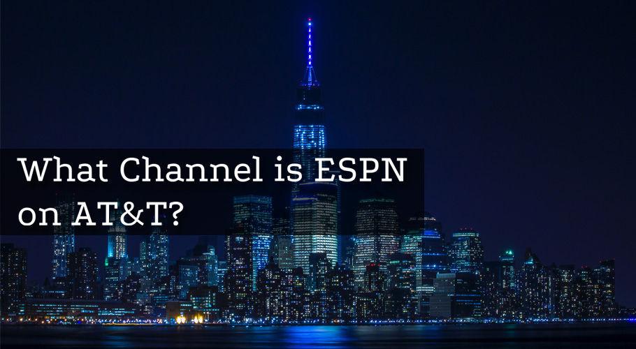 What Channel İs Espn On Att