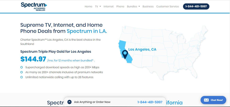 Spectrum service Los Angeles, CA offers high speed ...
