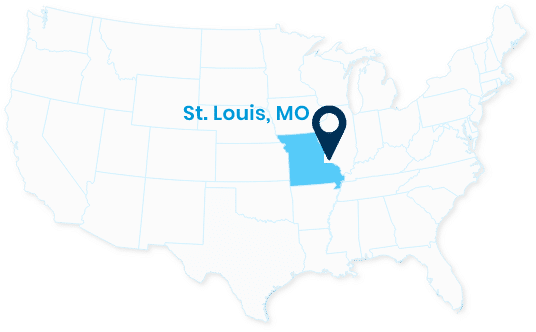 Map Spectrum St. Louis, MO