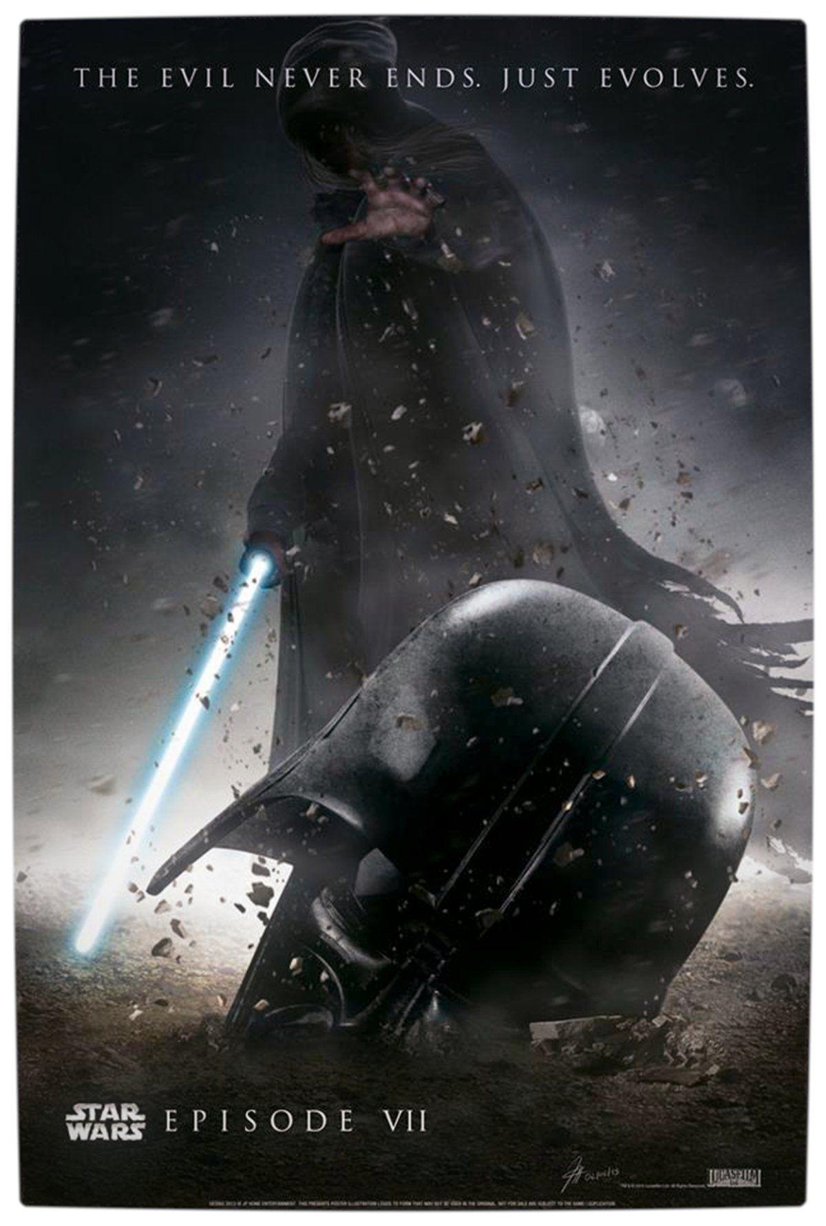 Star Wars Episode 7 Darth Vader Poster Fan Made