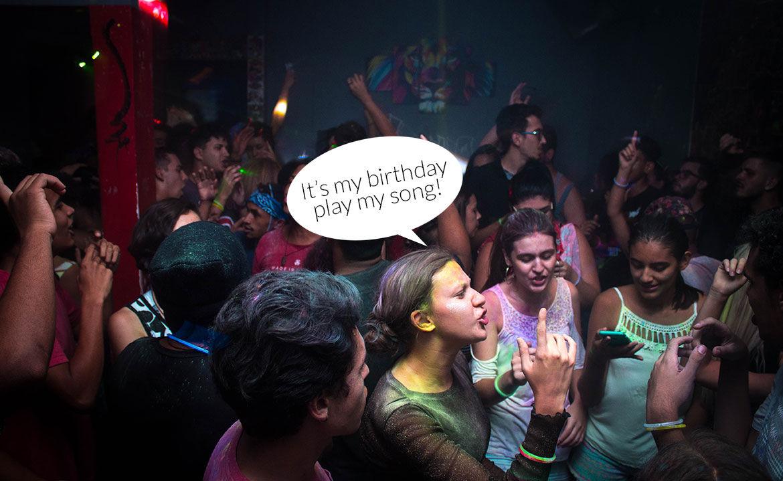 Birthday Song Request DJ