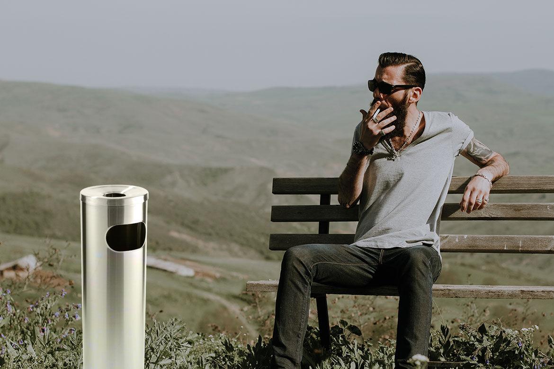 Smoking Bin