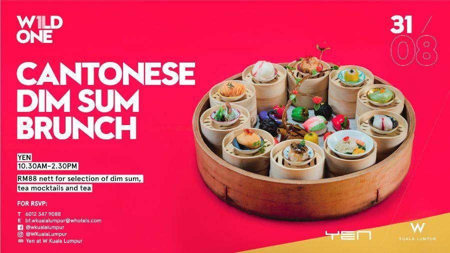Cantonese Brunch @ W Kuala Lumpur