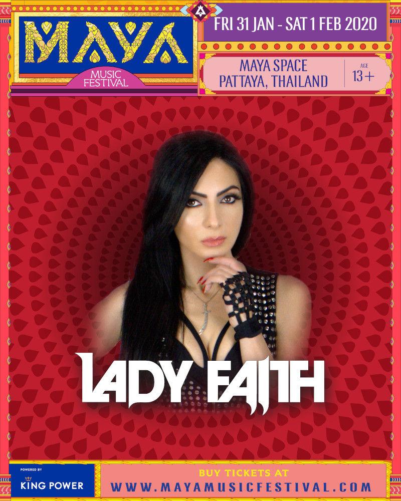 MAYA Pattaya 2020 - Lady Faith