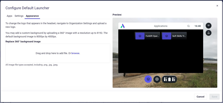 Configure launcher appearance.JPG