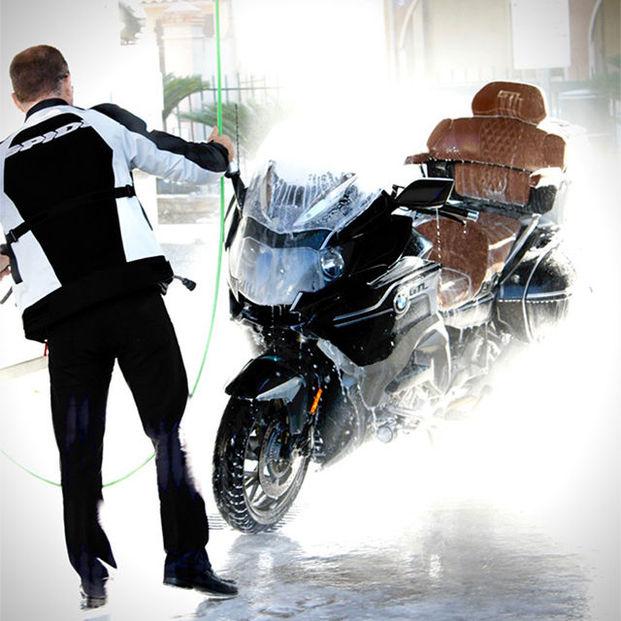 Lavage moto