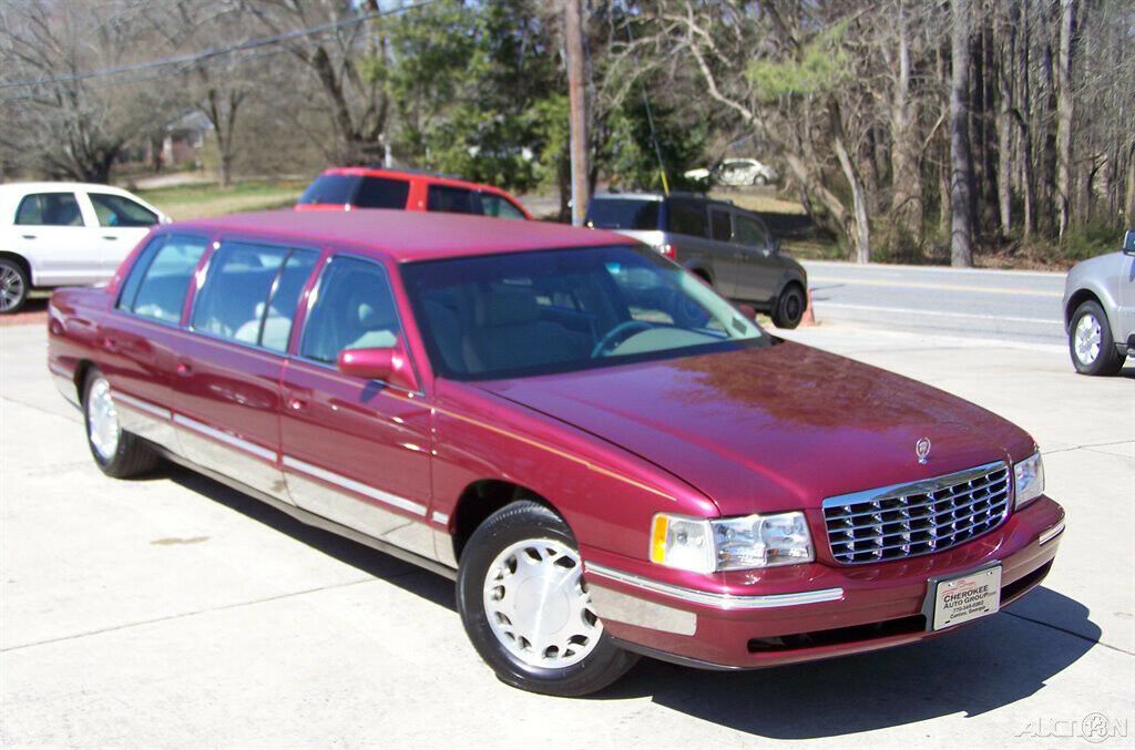 1998 Cadillac Deville Henry Brothers Limousine [rare conversion]