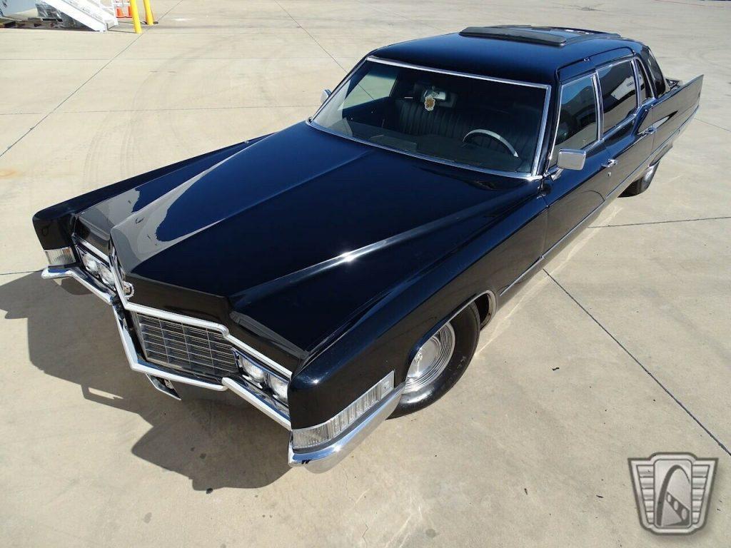 1969 Cadillac Fleetwood Limousine [recently restored California car]