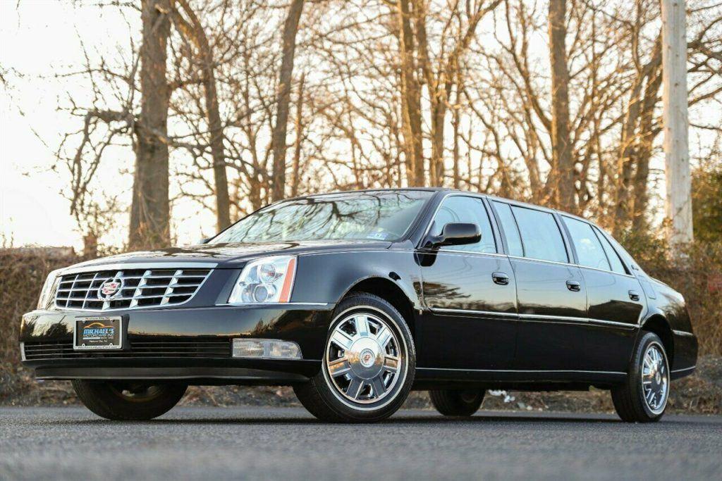 2008 Cadillac DTS Limousine [mint Caddy]