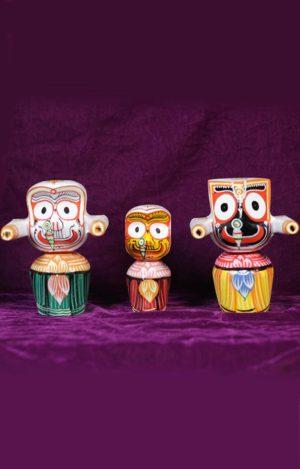 Wooden Jagannath Deities