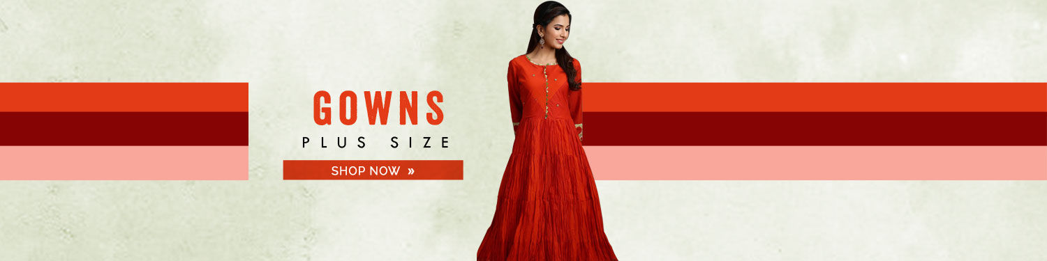 Gown Plus Size