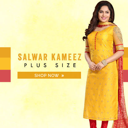Salwar Plus Size