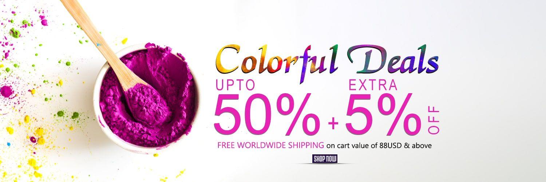 Colorful Deals