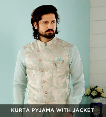 Kurta Pajama with Jacket