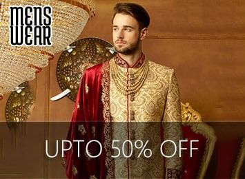 Indian Men's Wear, Indian Men's Clothing, Indian Wedding Clothing for Men