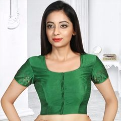 8903857920313 1520192  Green color Blouse in Art Silk fabric with Moti