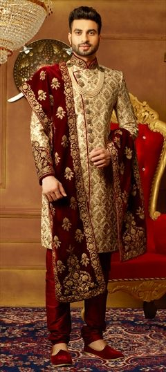 faf9f2a01211 Wedding Sherwani: Buy Indian men's sherwani | IndianWeddingSaree