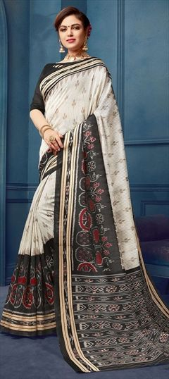 4217809c59 White and Off White - Bhagalpuri Silk - Sarees: Shop online Bridal ...