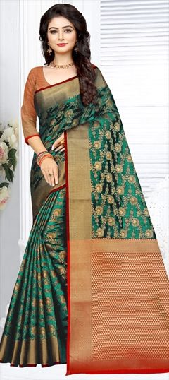 e0039199c9 Party Wear - Banarasi Silk - Sarees: Shop online Bridal Wedding ...