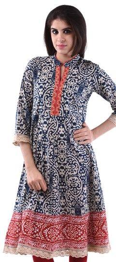 3da2bd34486 Indian Tunics for Women, Embroidered Tunics, Cotton Kurtis