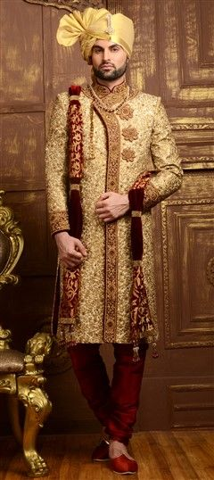 Wedding Sherwani: Buy Indian men's sherwani | IndianWeddingSaree