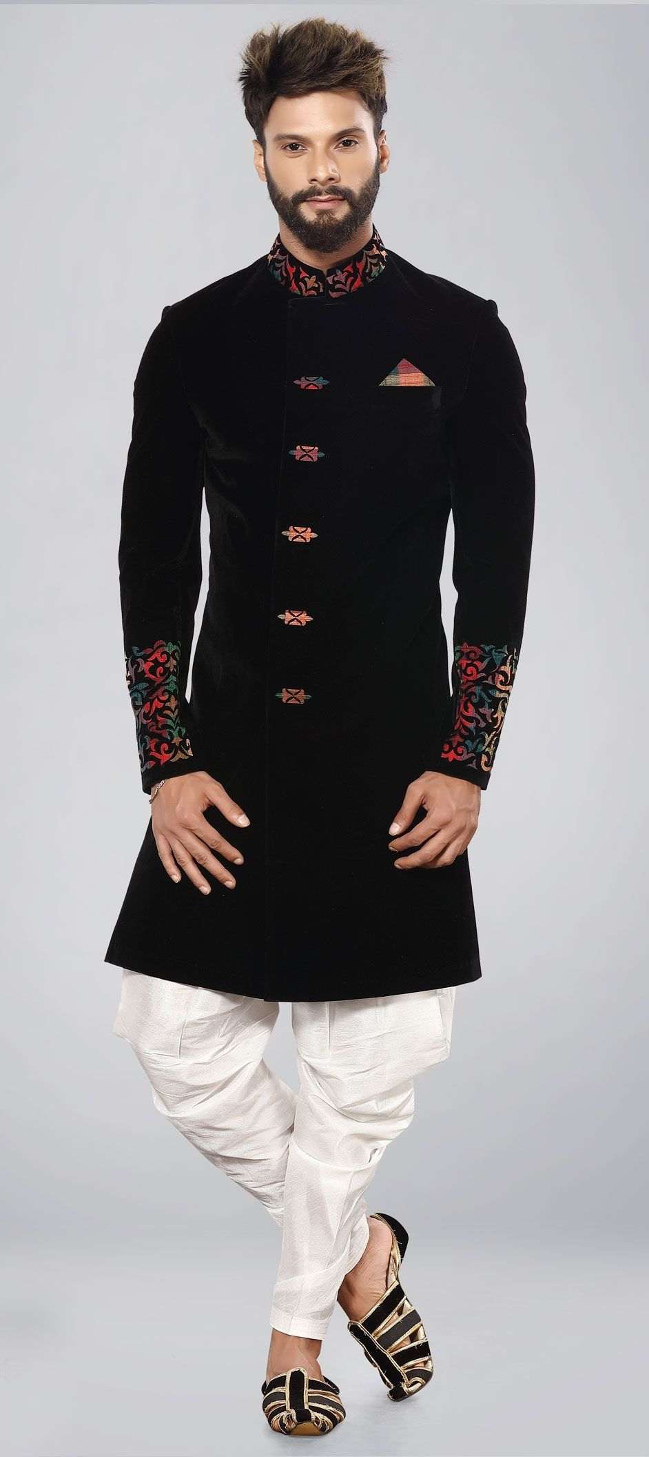 Men's Indo Western Outfits: Look Stylish and Charming