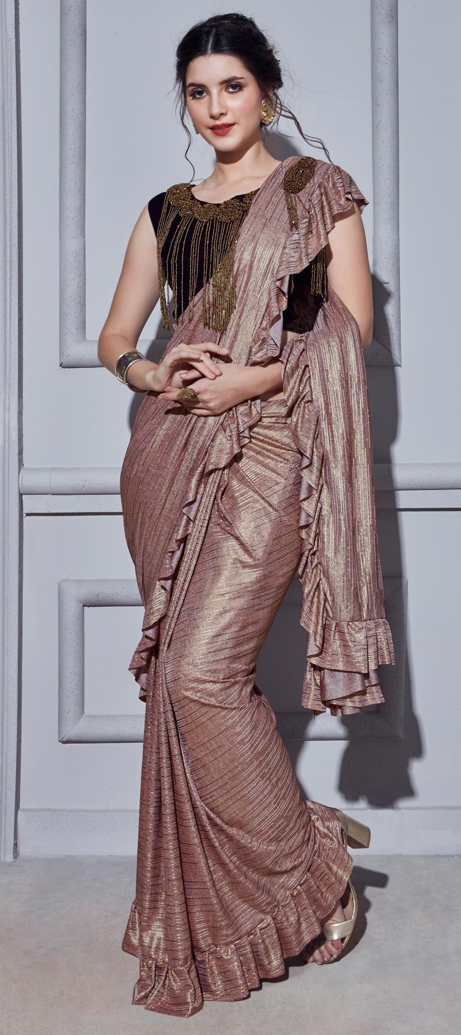ready made sari