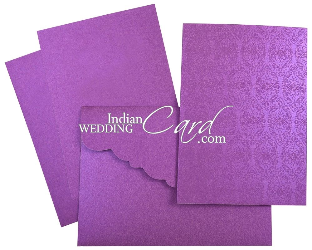 1 x PURPEL AND SILVER INDIAN WEDDING MONEY ENVELOPE  INDIAN-WEDDING-ACCESSORY