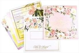 Rose Theme Cards