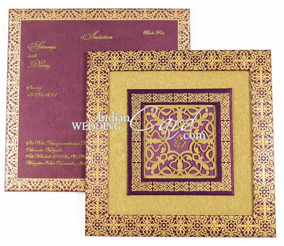 Box Wedding Invitations