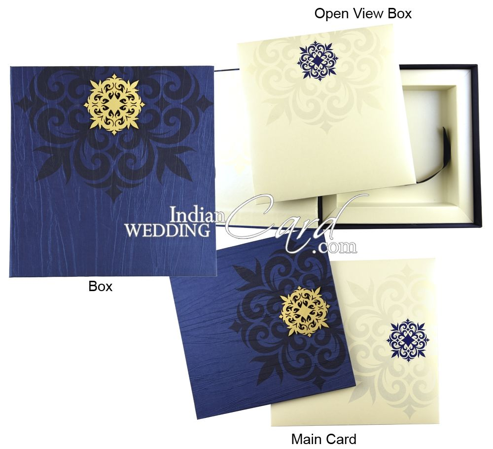 Designer Box Wedding Cards