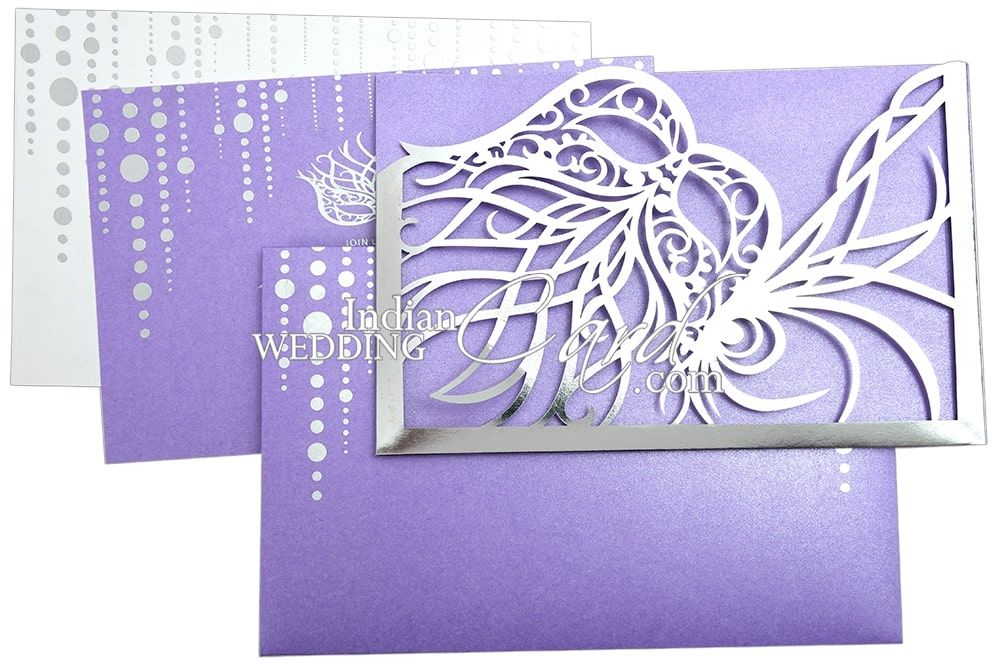 Masquerade Theme Wedding Invitations