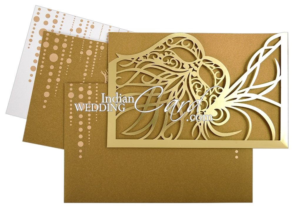 Masquerade Theme Wedding Cards