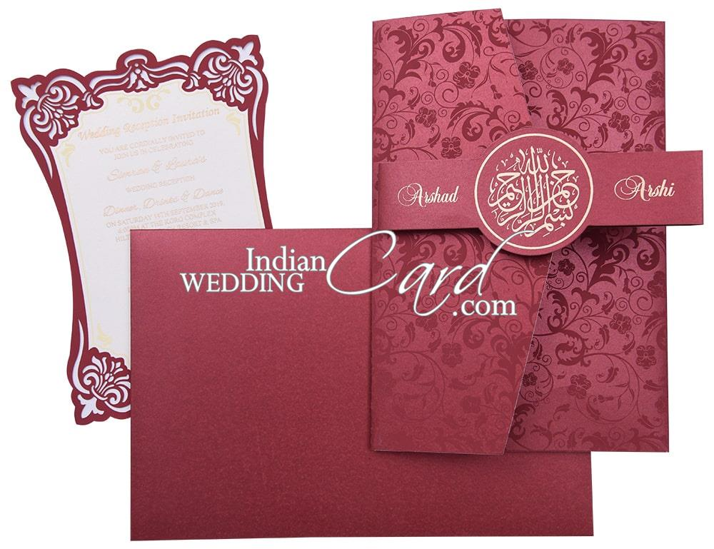 Theme Wedding Cards