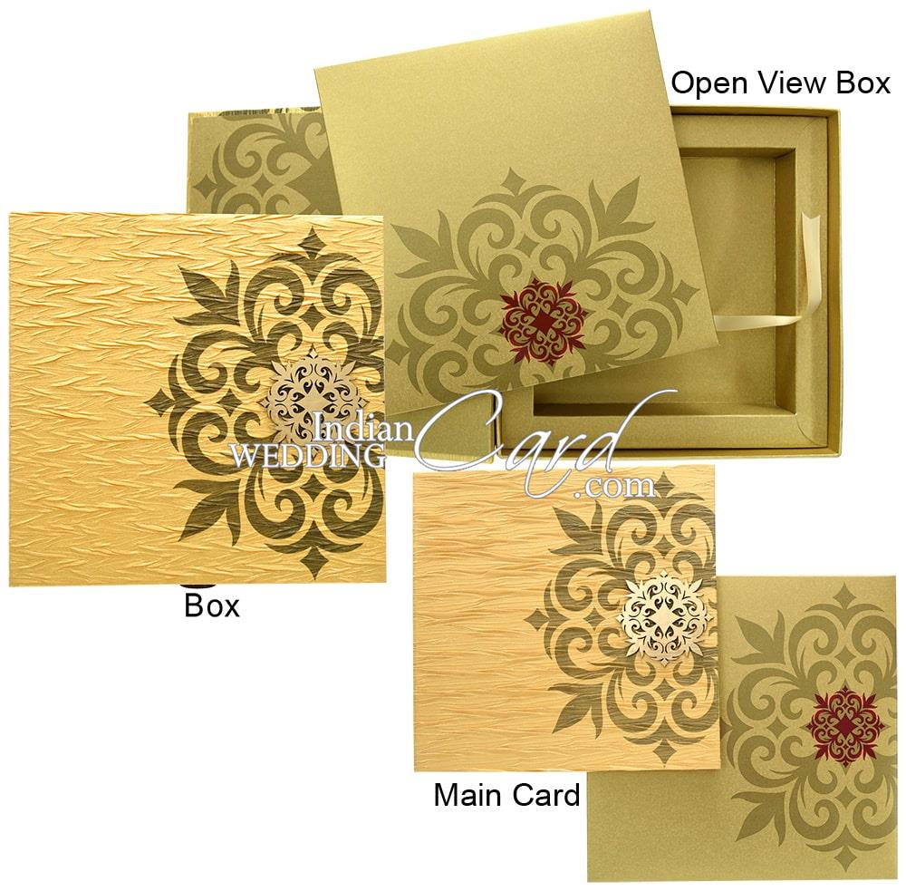 Box Wedding Cards
