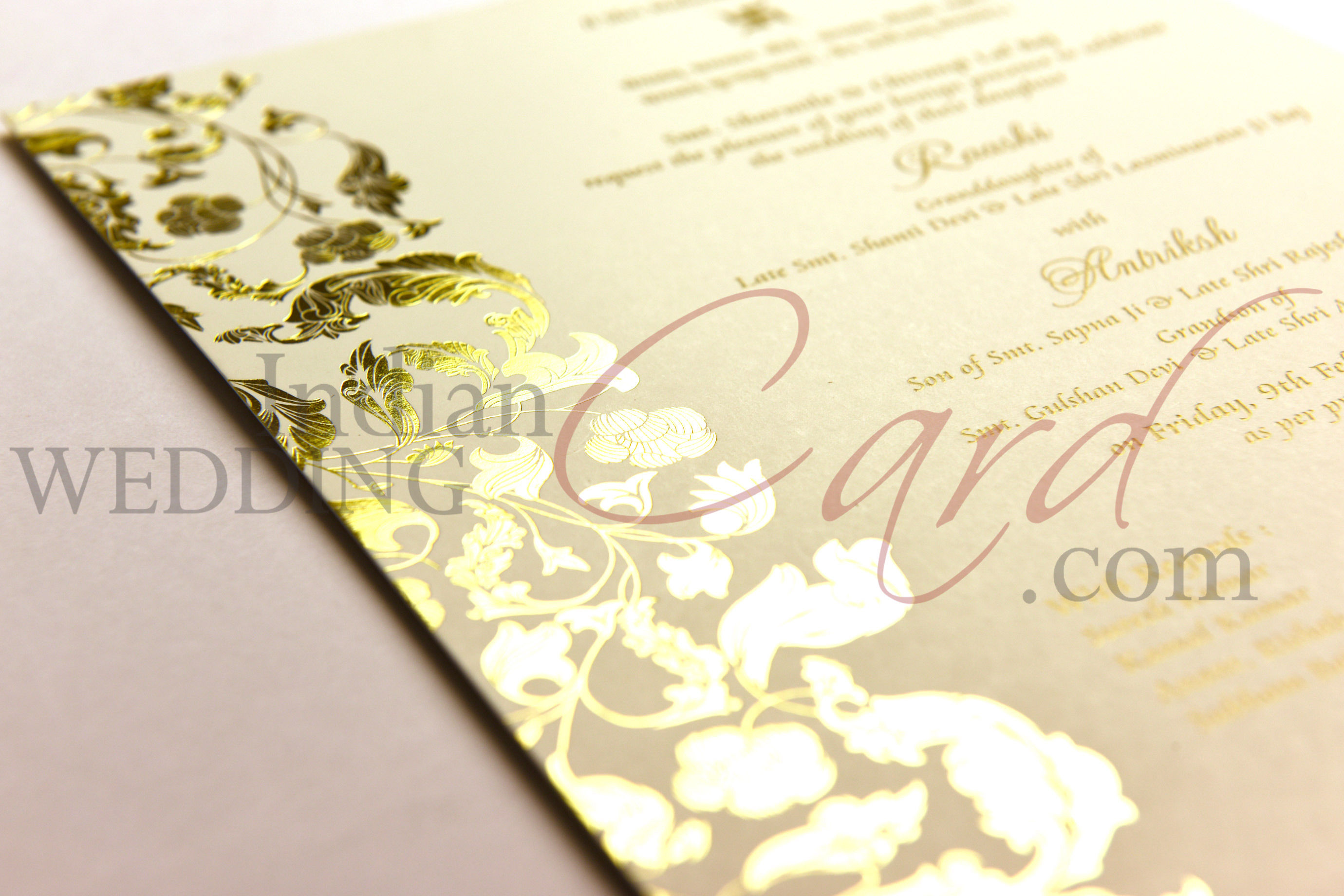 Border in Foil Printing Services