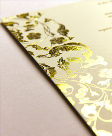 Border in Foil Printing