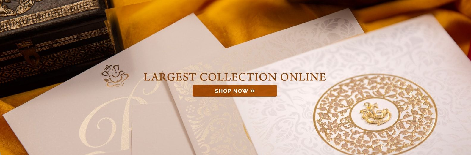 Indian Wedding Cards Scroll Wedding Invitations Theme