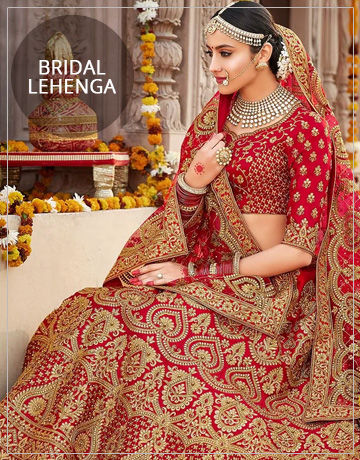 60ffe444fb97 Wedding is the most beautiful day in everyone's life, and all eyes are on  the beautiful bride. Our Bridal Lehenga collection is exclusively designed  for the ...