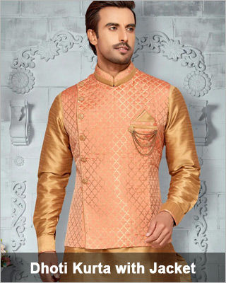 Dhoti Kurta with Jacket