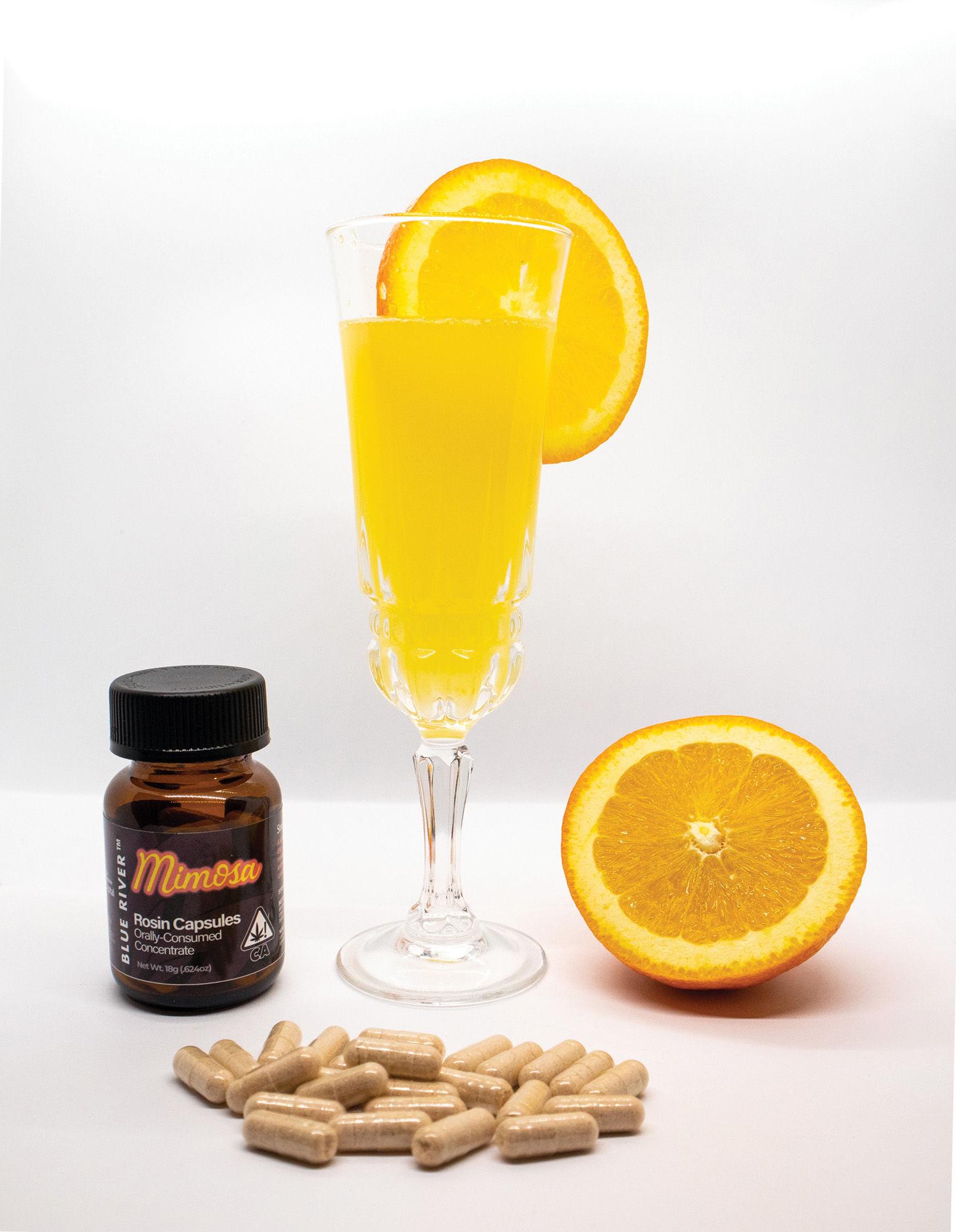 Mimosa Rosin Capsules