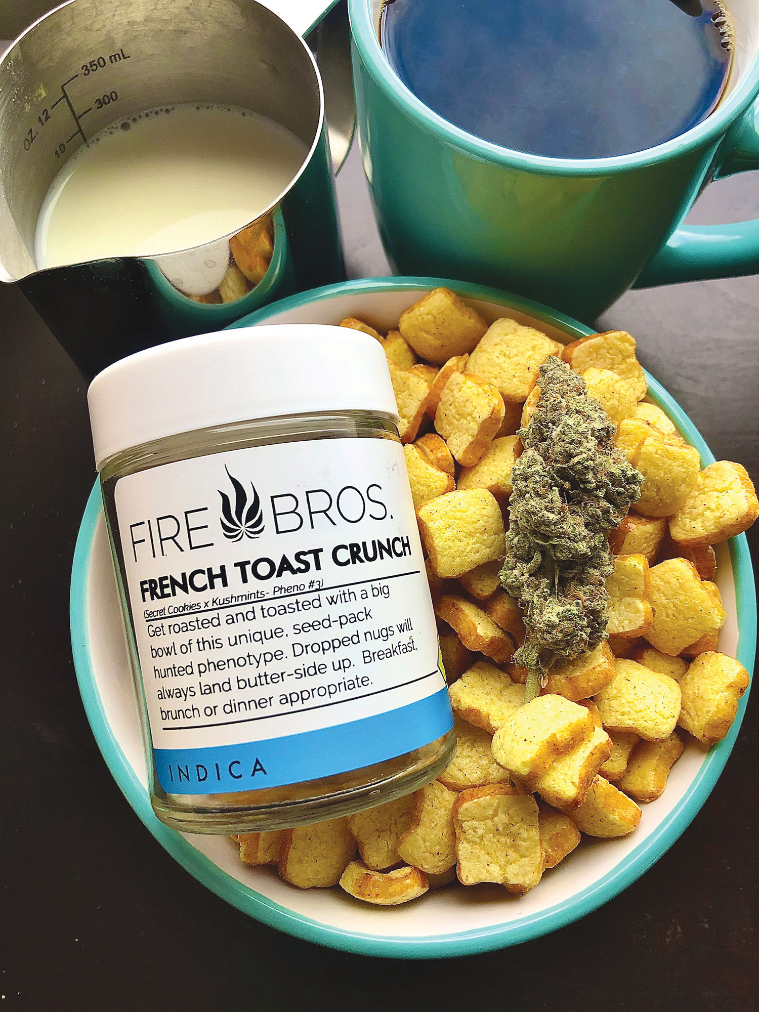 Coffee & Cannabis: Coffee with Milk & French Toast Crunch