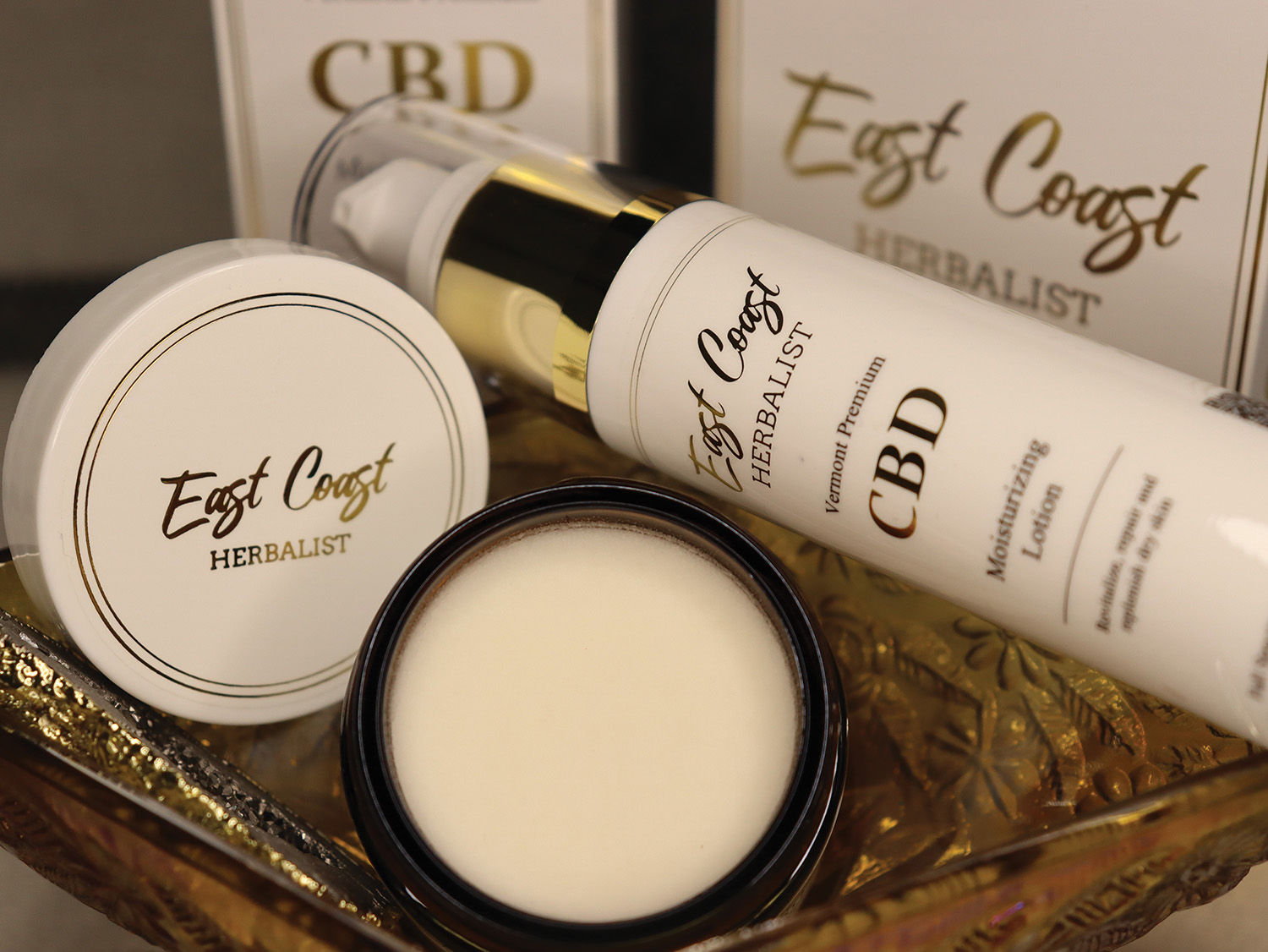East Coast Herbalist Transdermal Lotion and Lemongrass Salve from CBD Releaf Center