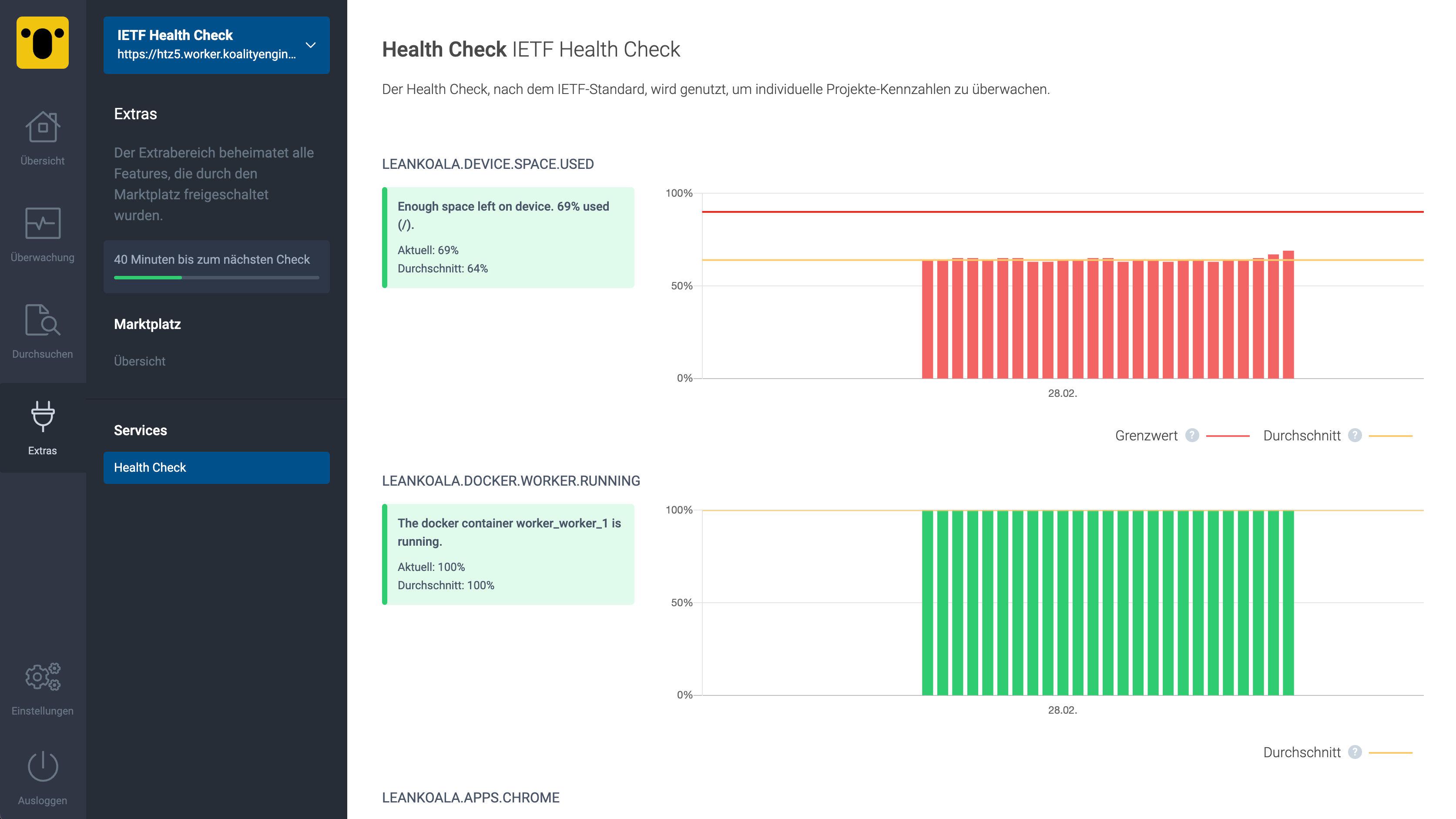 IETF Health Check Preview