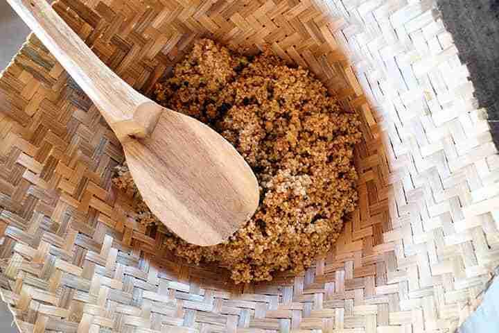 Menu Nasi Tiwul di Pawon Purba Nglanggeran