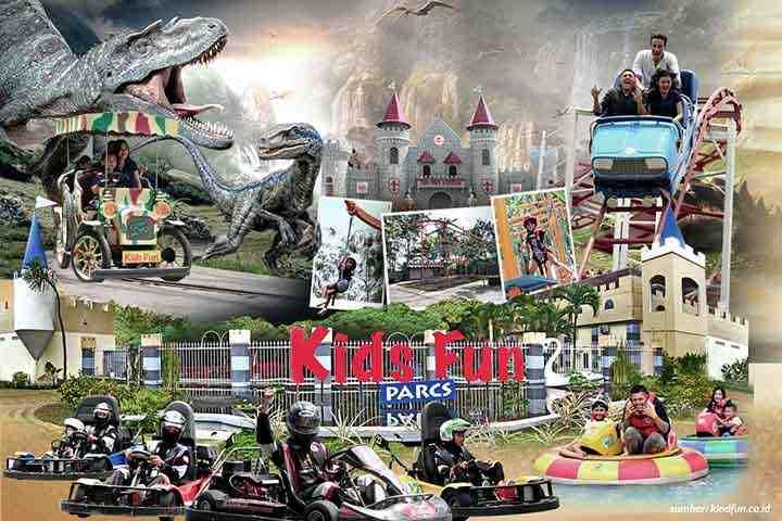 Tempat Wisata cocok untuk Anak Gokart dan berenang di Jogja: Kids Fun