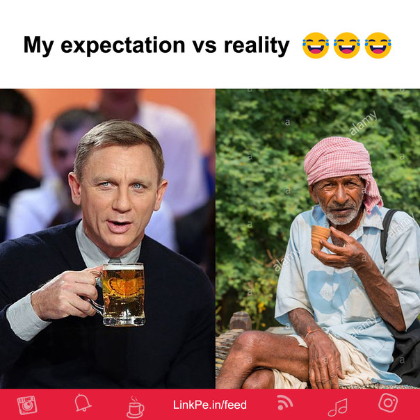 My expectation vs reality in 2020